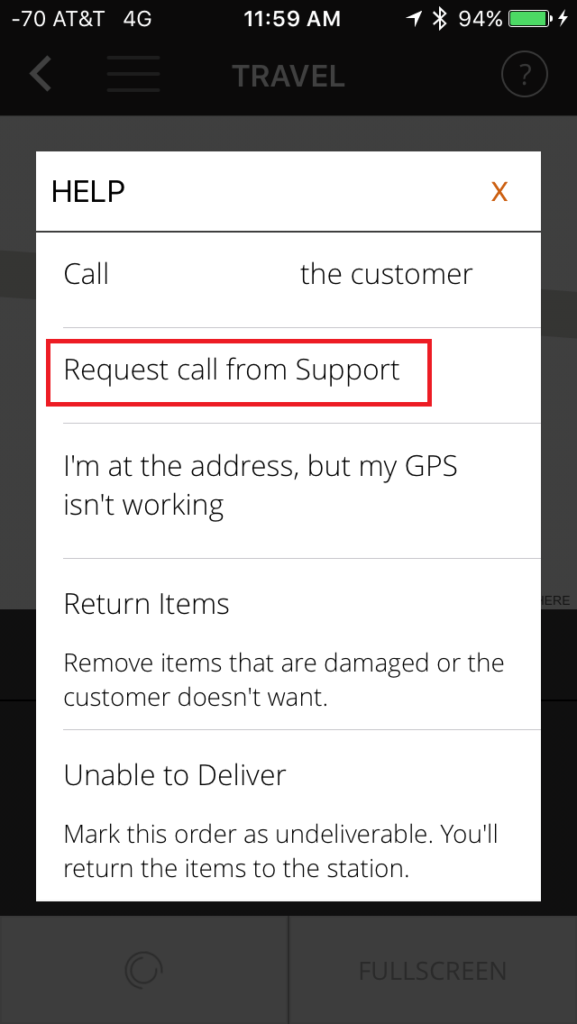 Amazon Flex support is just a tap away